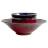 Plum Perfect Stoneware Soup and Salad Bowls