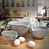 Nested Stoneware Batter Bowls
