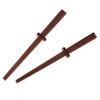American Hardwood Black Maple Chopsticks, Set of 2