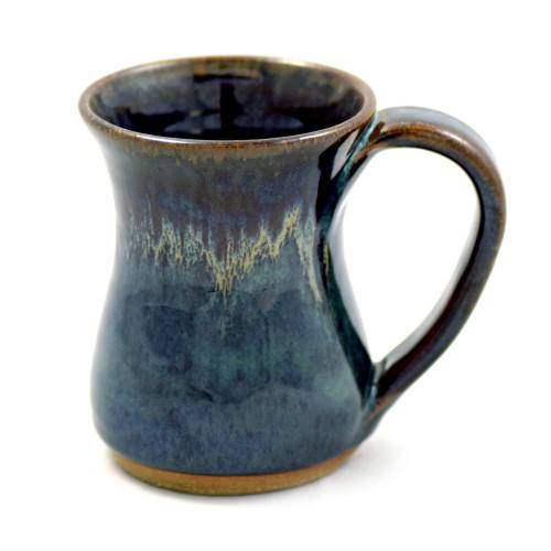 Stoneware 12-oz Everyday Coffee Mug in Midnight Blue