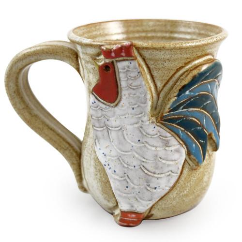 Stoneware Farmhouse Rooster Mug
