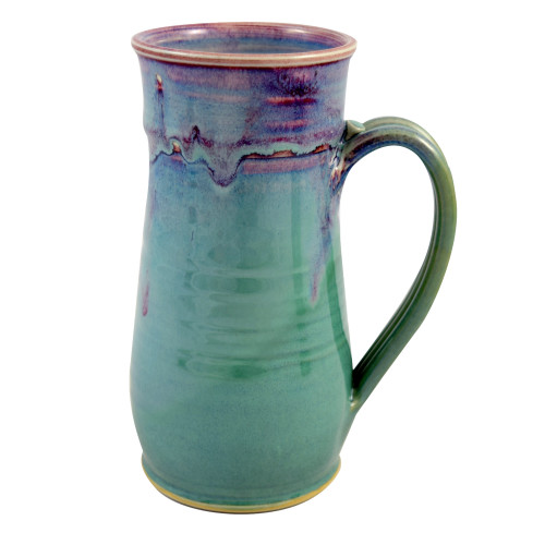 Orchid Green Pottery Collection: 22-oz Tall Mug