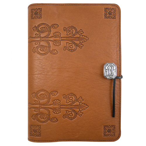 Embossed Leather Journal: da Vinci Renaissance