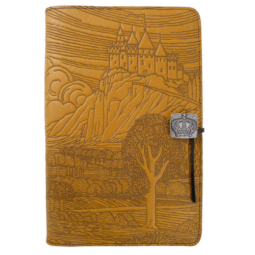 Embossed Leather Journal: Camelot