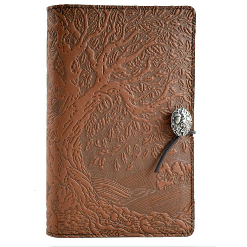 Embossed Leather Journal: The Tree of Life