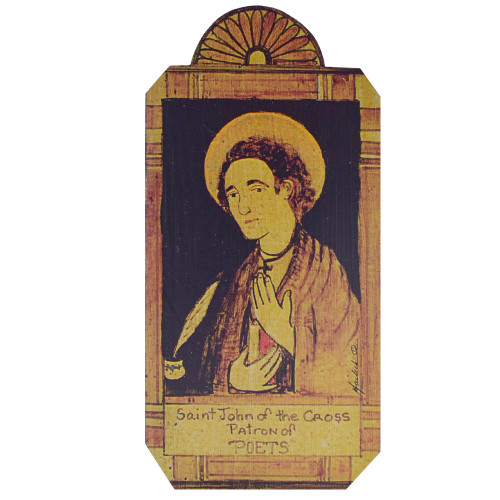 Patron Saint Retablo Plaque - St John of the Cross