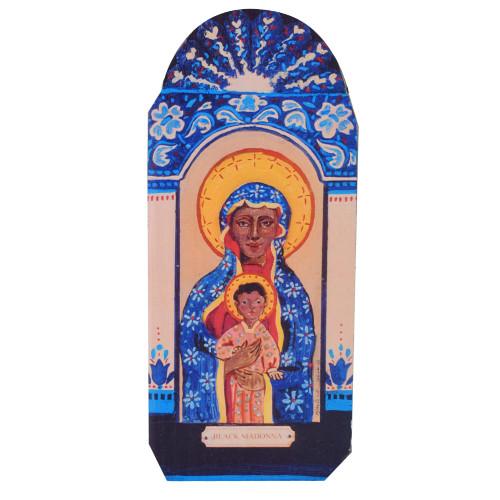 Patron Saint Retablo Plaque - Black Madonna