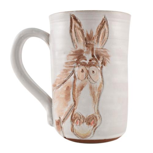 Silly Horse Stoneware Mug