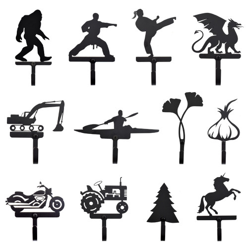 Themed Metal Wall Hooks