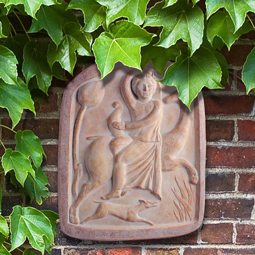 Toscana Cast Stone Garden Plaque