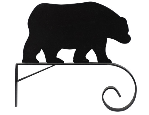 Plant Hanger Bracket: Bear