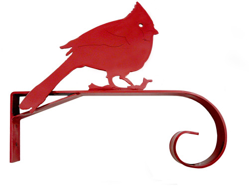 Plant Hanger Bracket: Red Cardinal