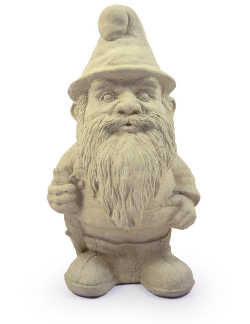 Concrete Woodland Gnome Statue