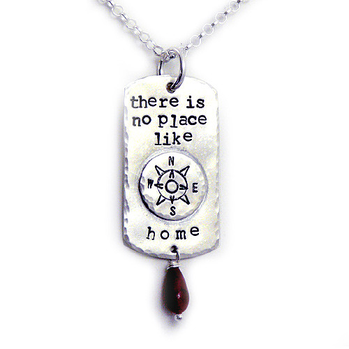 There is No Place Like Home Necklace