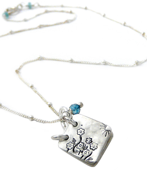 She Lived Happily Ever After Storybook Necklace