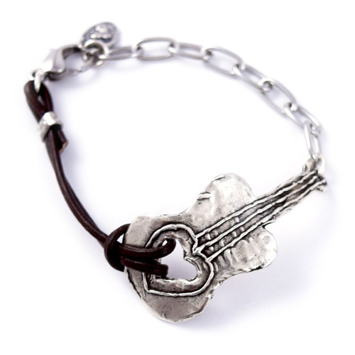 Music City Guitar Bracelet