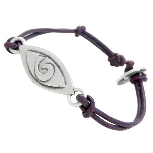 Pewter Breathe Bracelet