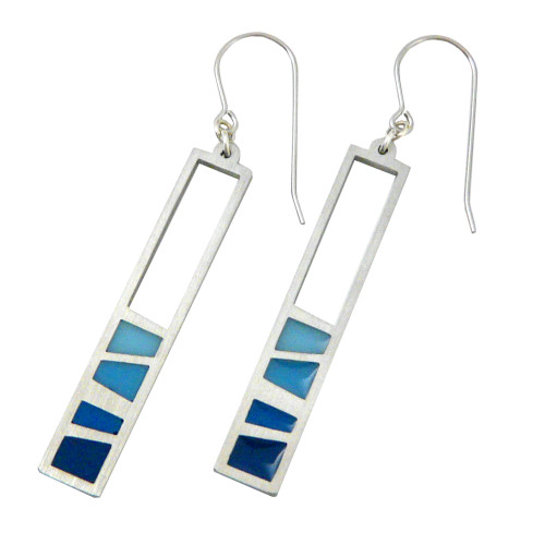 Modern Stainless Steel Ocean Earrings