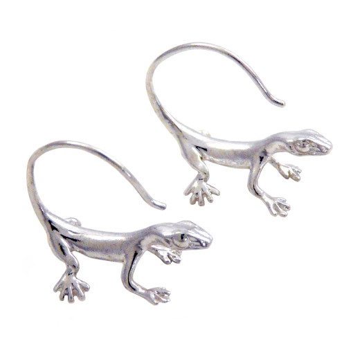 Lizard Reverse Earrings