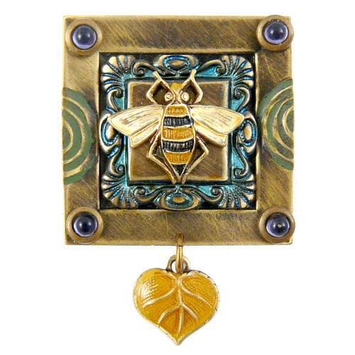 Framed Honey Bee Homage Pin