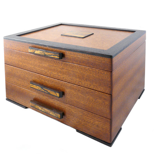 Urban Craftsman Hardwood Jewelry Chest