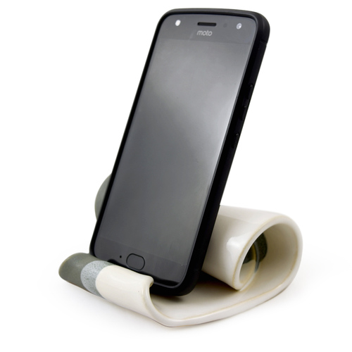 Hilborn Pottery Contemporary Twist Phone Stand
