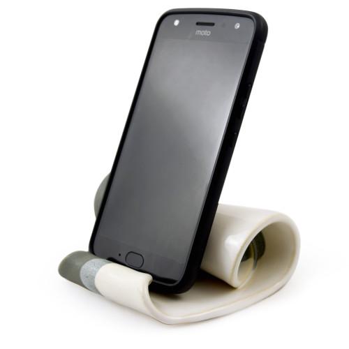 Hilborn Pottery Contemporary Twist Phone Stand