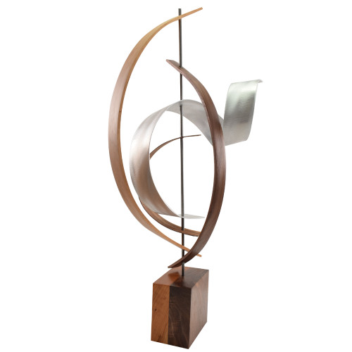 Solar Cycle Bent Wood Sculpture