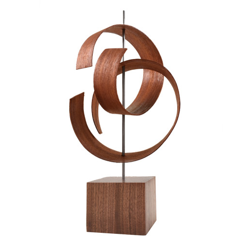 Ripcurl Bent Wood Tabletop Sculpture