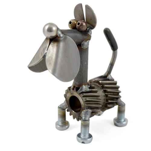 Torque the Dog Metal Desk Pet