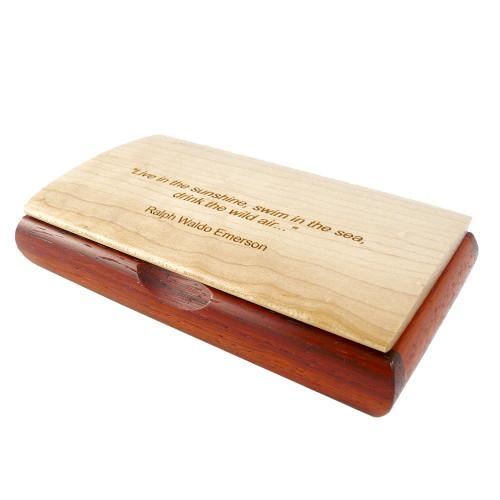 Inspiration Box with R. Waldo Emerson Quote