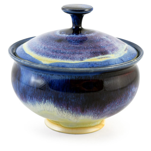 Wild Blackberry Pottery Collection: Lidded Candy Dish