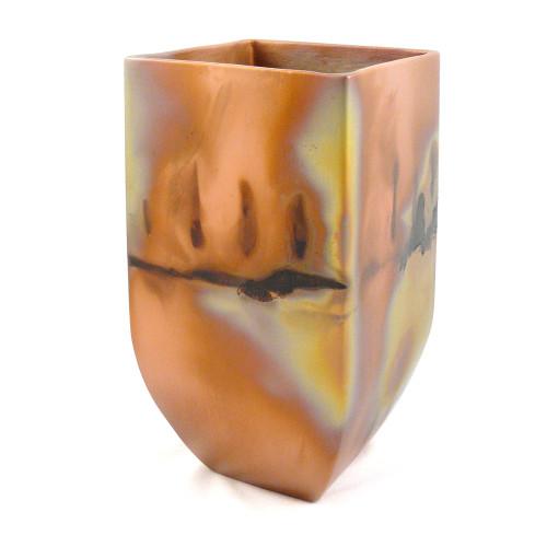 Copper Patina Mantel Vase