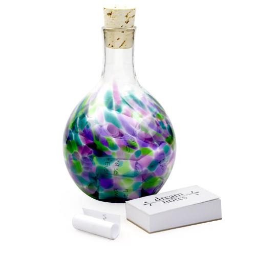 Blown Glass Sweet Dream Wish Bottle