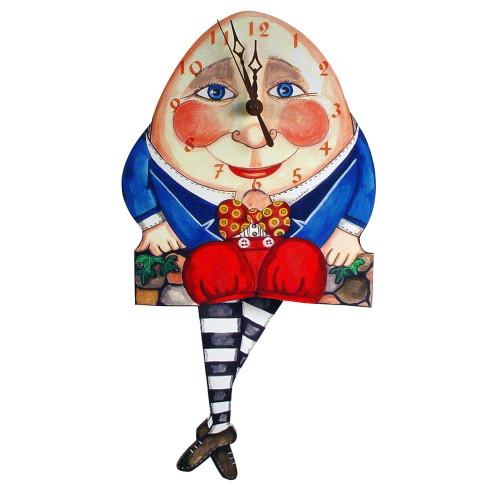 Humpty Dumpty Pendulum Clock