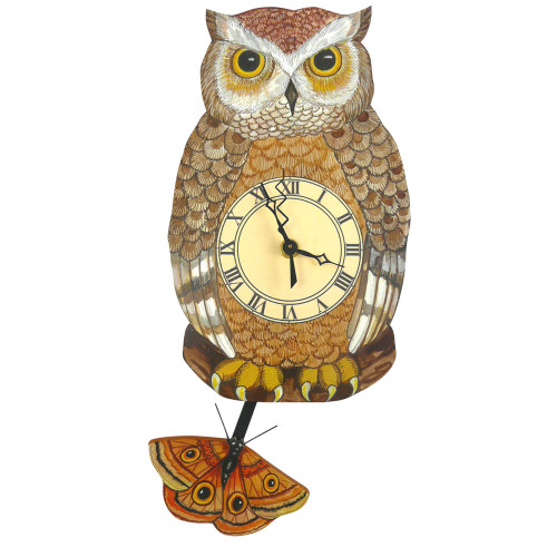 Night Owl Pendulum Clock