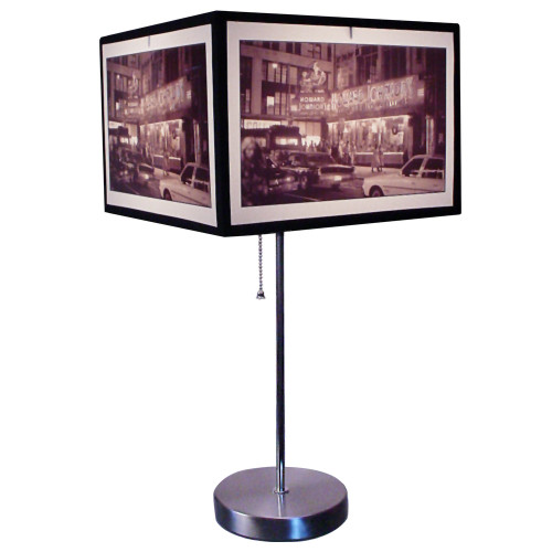 Times Square Photographic Art Lamp