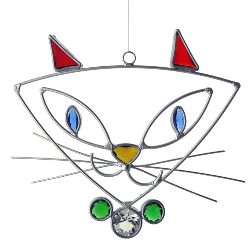 Pretty Kitty Suncatcher