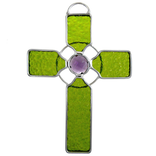 Celtic Cross Suncatcher