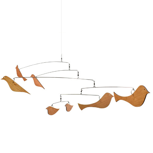 Scandinavian-Style Birds Modern Indoor Mobile