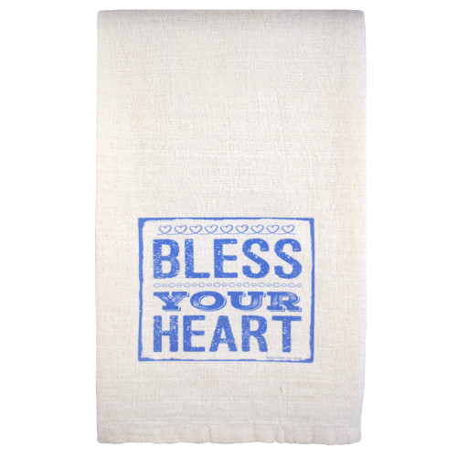 Flour Sack Towel: Bless Your Heart