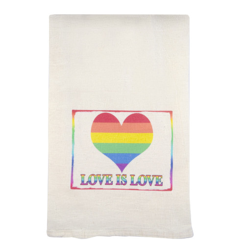 Love is Love Cotton Kitchen Towel