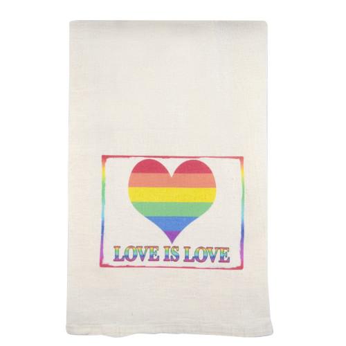 Love is Love Cotton Kitchen Towel