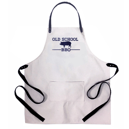 Old School BBQ Heavy Duty Canvas Apron