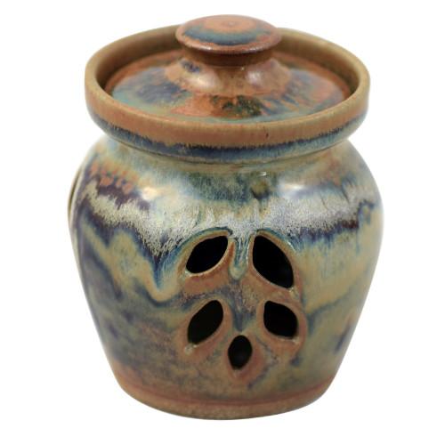 Tuscan Farmhouse Collection: Stoneware Garlic Keeper