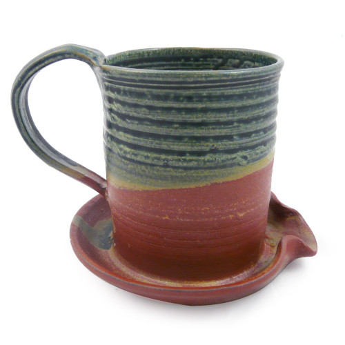 Holman Pottery Bacon Mug, Desert Color