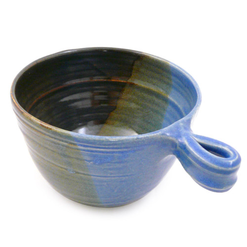 Stoneware French Onion Soup Bowl, Lakeside Glaze
