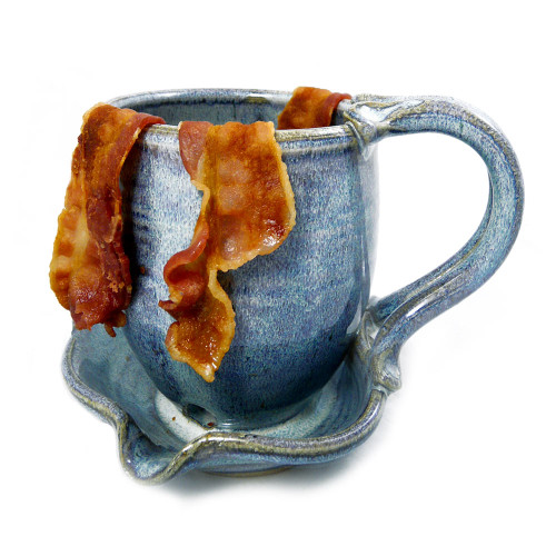 Stoneware Bacon Cooker Mug