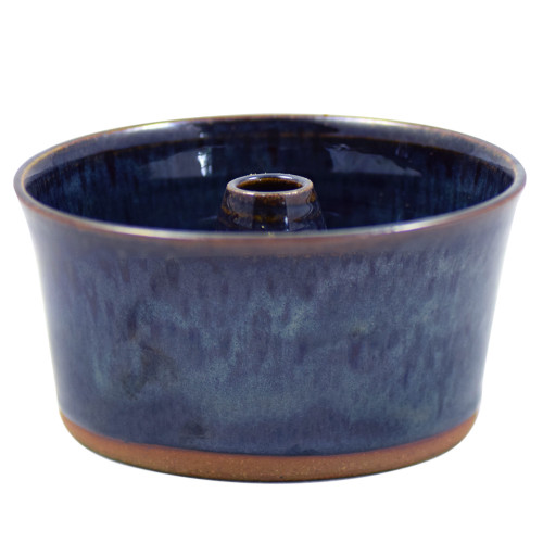 Stoneware Pottery Petite Pound Cake Baker in Midnight Blue