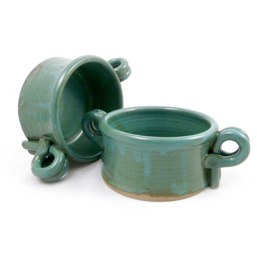 Stoneware Bistro Bowls, Set of 2